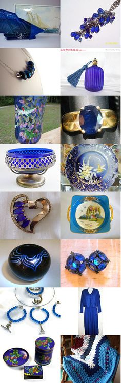 September Sapphire Blue TeamVintageUSA by Rita Scott on Etsy--Pinned with TreasuryPin.com