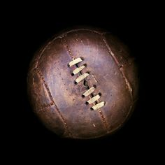 Vintage football - great decorations