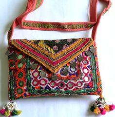 Banjara Clutch bag, Bohemian, Vintage Clutch, Trendy Clutch bag, Bohemian…