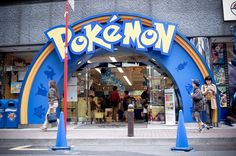 The Pocket Monsters' store: Pokemon Center Mega Tokyo
