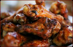 Spicy Honey-Garlic Wings - Traeger Grill Recipes