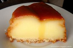 Portuguese Desserts, Portuguese Recipes, Delicious Desserts, Dessert Recipes, Chocolate Pudding Recipes, Custard Recipes, Good Food, Yummy Food, Arabic Food