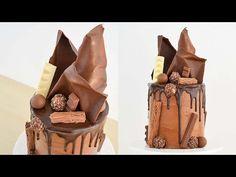 Mousse de Chocolate ( Receta ) + Torta en capas + Decoración || TAN DULCE - YouTube