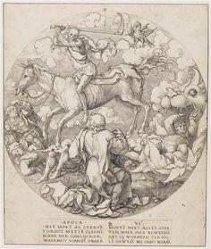 Vellert Dirk Jacobsz (actif de 1511 à 1547) - L'Apocalypse - dessin