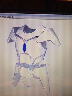 The armor to go with that custom mando helmet