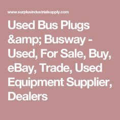 Westinghousecutler hammer bus plugs busway tap boxes used bus plugs busway used for sale buy ebay trade sciox Image collections