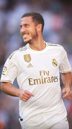Spain's domestic football competition La Liga's official handle on Tuesday gave tribute to Real Madrid's striker. The post BOHT HA(ZA)RD! Eden Hazard gets & Boy& tribute from La Liga appeared first on DKODING. Eden Hazard, Real Madrid, Fifa, Sports Images, Saint Petersburg, Adidas, Fc Barcelona, Cristiano Ronaldo, Premier League