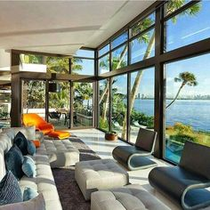 Modern Waterfront Living  Via @Zalfino Life is short get #rich like we do and become #famous tomorrow. Follow Rich Famous on Twitter to live the life you want. Luxury Home Luxury Lifestyle Rich Money
