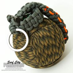 This Paracord Grenade Is Loaded With Survival Tools