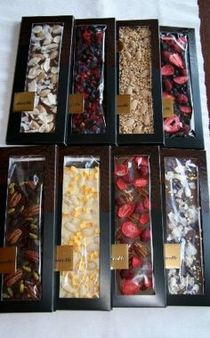 47 ideas chocolate packaging ideas sweets - Ideas (i will organize this once school is over) - Brownie Packaging, Dessert Packaging, Bakery Packaging, Chocolate Packaging, Food Packaging Design, Packaging Ideas, Chocolate Sweets, Chocolate Shop, Chocolate Bark