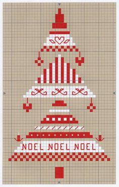 Idée de cadeau de Noël 2 - Grille gratuite - Mamilou Créations
