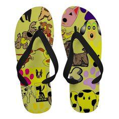 Liberty Dog Doggy Flip Flop Sandals - Unisex Sizes