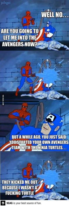 The story behind the Avengers