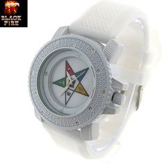 Eastern Star Ice Watch DS-WL116-WHT-WHT - True2MyFaith