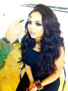 jesy nelson -- love her hair and her in general Jesy Nelson, Fifth Harmony, Little Mix, Weave Hairstyles, Her Hair, Love Her, Hair Beauty, Long Hair Styles, Celebrities