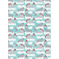 Arctic Critters Wrapping Paper