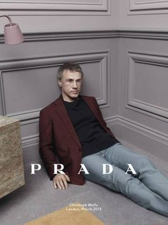 Christoph Waltz, Ben Whishaw & Ezra Miller by David Sims for Prada Menswear Campaign FW 2013-2014 19
