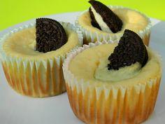 Individual Oreo Cheesecake Cups.
