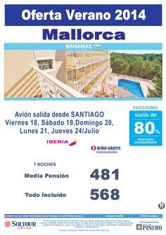 Mallorca, hasta 80% Dto.Acompañante, Hotel Bahamas, salidas 18, 19, 20, 21 y 24 Julio desde Santiago ultimo minuto - http://zocotours.com/mallorca-hasta-80-dto-acompanante-hotel-bahamas-salidas-18-19-20-21-y-24-julio-desde-santiago-ultimo-minuto/