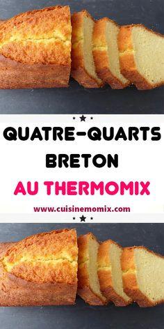 Breton pound cake with Thermomix – – Bretonischer Pfundkuchen mit Thermomix – # Pfund – Gentilly Cake Recipe, Dessert Thermomix, Easy Cakes To Make, Moist Carrot Cakes, Creme Dessert, Good Food, Yummy Food, Taiwan Food, Pound Cake