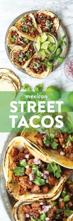 apero dinatoire rapide facile Easy, quick, authentic carne asada street tacos you can now make right at home! Top with onion, cilantro + fresh lime juice! Mexican Dishes, Mexican Food Recipes, Beef Recipes, Dinner Recipes, Cooking Recipes, Healthy Recipes, Ethnic Recipes, Turkey Recipes, Cooking Corn