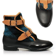 Vivienne Westwood Plastic and Fabric Pirate Boot | GarmentQuarter