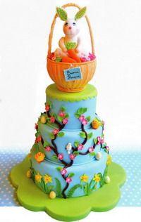 МК торты на Пасху -Easter cake tutorials - Мастер-классы по украшению тортов Cake Decorating Tutorials (How To's) Tortas Paso a Paso