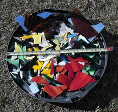 scrap glass good for mosaics...get it now