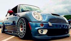 Mini Cooper S, looks nice on OZ racing wheels.