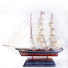 big Cutty Sark sailboat model, hand made, long Sailboat Craft, Sailing Ships, Big, Model, Models, Template, Sailboat, Modeling
