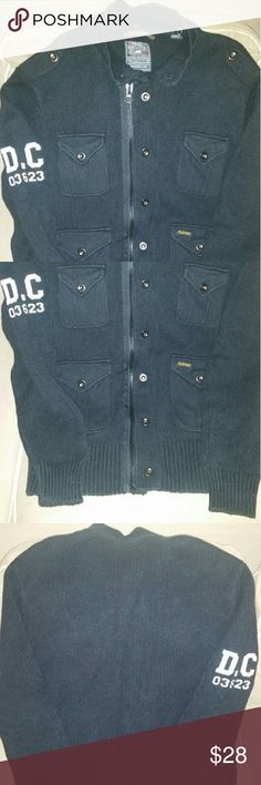Men's sweater Very good condition/ warn a few times/ thick/ bought from nordstrom pro jek raw Sweaters Cardigan