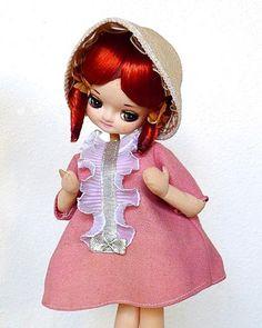 Vintage Pose Doll in Original Box Big Eye Eyed 1960's Japan Bradley Blythe Era   eBay ~ $13.27