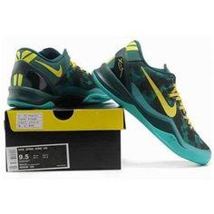 http://www.asneakers4u.com/ Nike Kobe 8 System Basketball Shoe Green/Yellow Sale Price: $69.80