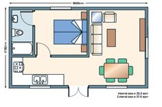 Double Annexe Floorplan