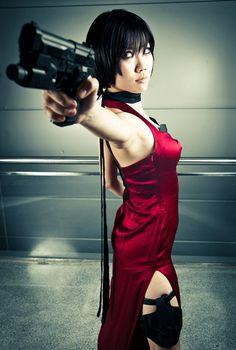 Ada Wong cosplay (Resident Evil)