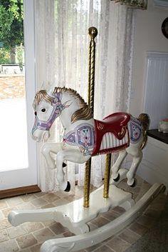 Carousel rocking horse