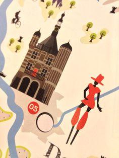 Digitale illustraties van de Deventer Waag en het Deventer Op Stelten — heel eigenz