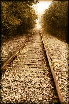 Pixeltrashamania: Photography Railroad Tracks