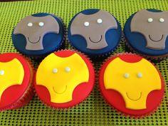 Iron Man Cupcake - Cupcake homem de ferro