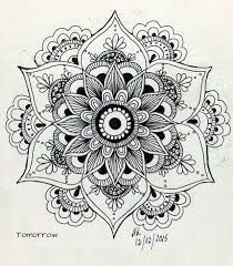 Bildergebnis für zentangle fleur de lotus