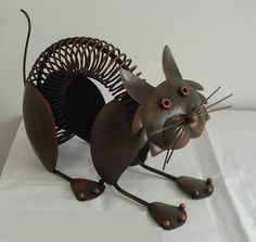 Metal crafts--- would totally do a dog with metal