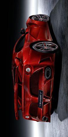 °) Mansory Ferrari La Revoluzione in Red Carbon - 8 Ferrari F80, Bugatti Cars, Best Muscle Cars, Car Posters, Love Car, Amazing Cars, Hot Cars, Concept Cars, Exotic Cars