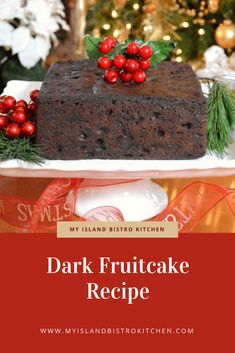 Savory magic cake with roasted peppers and tandoori - Clean Eating Snacks Dark Fruit Cake Recipe, Glazed Cherries, Christmas Baking, Christmas Cakes, Christmas Desserts, Christmas Treats, Christmas Recipes, Xmas Food, Holiday Baking