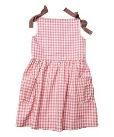 Look at this Carmine Pink Hayfield Picnic Dress - Toddler & Girls on #zulily today!