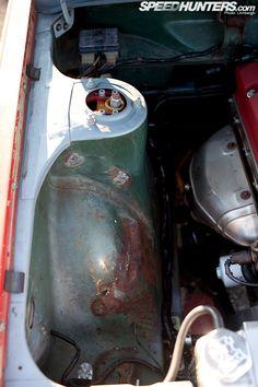 Datsun 510 Sleeper/Drifter.  280ZX Coilovers and Camber Plates.