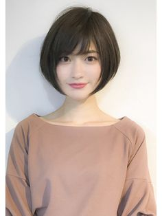 52 Beautiful Teen With Short Hairstyle That Can To Try Staying beautiful is a comprehensive package your physical look and body gestures bring along. If you've got thin hair, then […] Asian Short Hair, Girl Short Hair, Short Hair Cuts, Short Bob Hairstyles, Hairstyles Haircuts, Hairstyle Short, Hairstyle Ideas, Ulzzang Hairstyle, Korean Hairstyles
