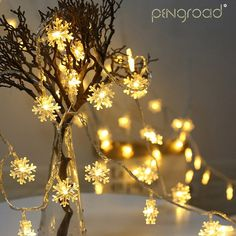 Special Section 3v 10 Led String Lights Wall Curtain Lights Holiday Lighting Fairy Garland Light For Christmas Tree Wedding Party Decoration Home & Garden Festive & Party Supplies