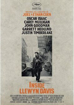 Best Movie Posters 2013 - inside llewyn davis (coen brothers) [inspired by bob dylan/beatnik aera)