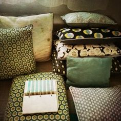 coussins, cushions, collection Yahto