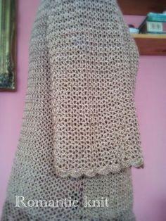 Romantic knit: Ажурна блуза